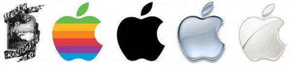 Cambiamenti del logo Apple