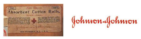 Cambiamenti del logo Jhonson & Jhonson