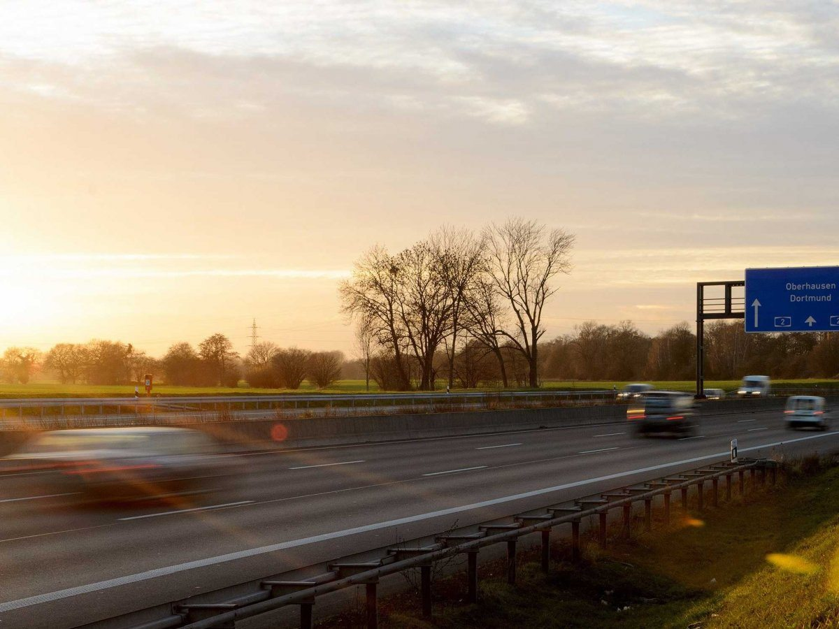Autobahn in Germania