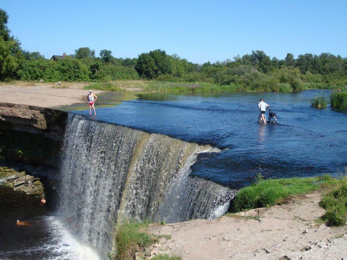 Cascate Niagara del Baltico in Estonia
