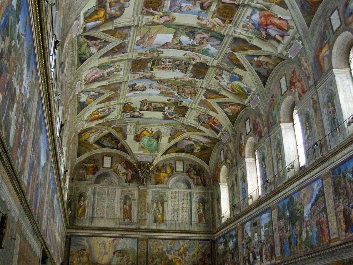 La cappella Sistina a Roma