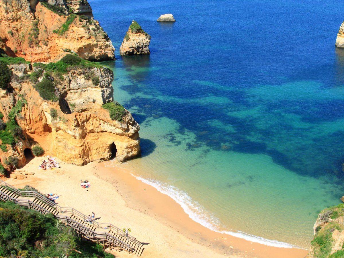 lLe spiagge di Lagos in Portogallo