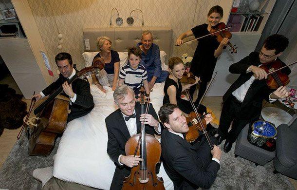IKEA Airbnb - Sveglia Orchestrale
