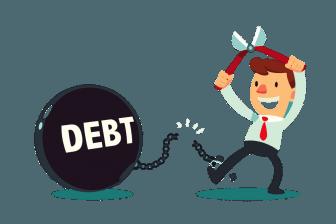 diventare ricco - estinguere debito
