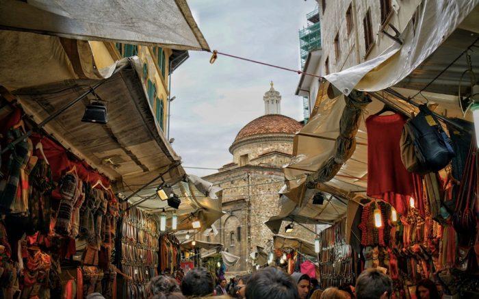 Mercato di San Lorenzo Firenze