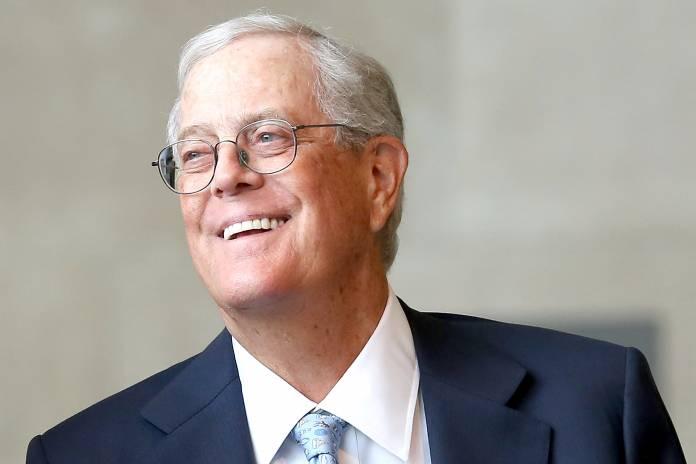 L'uomo più ricco del mondo Davide Hamilton Koch