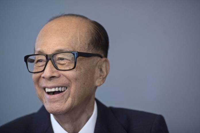 Li-Ka-Shing uomini più ricchi del mondo