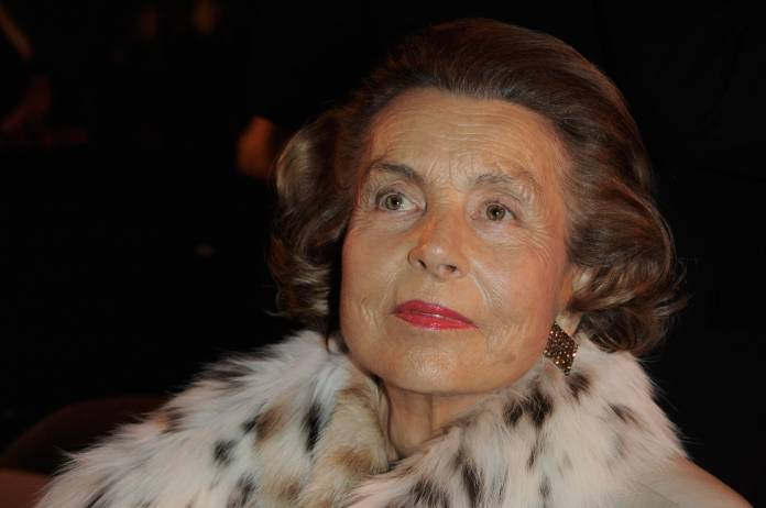 Liliane Bettencourt Donna più ricca del mondo