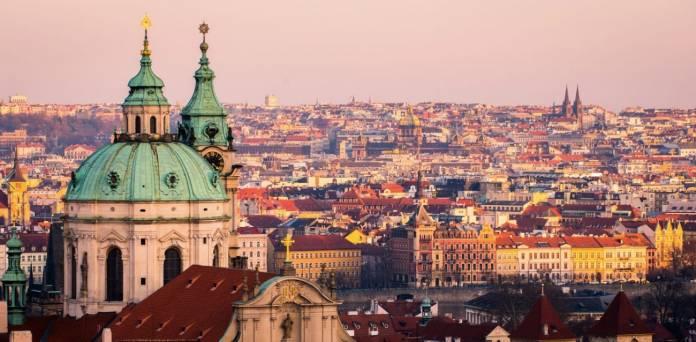 Mala strana quartiere Praga
