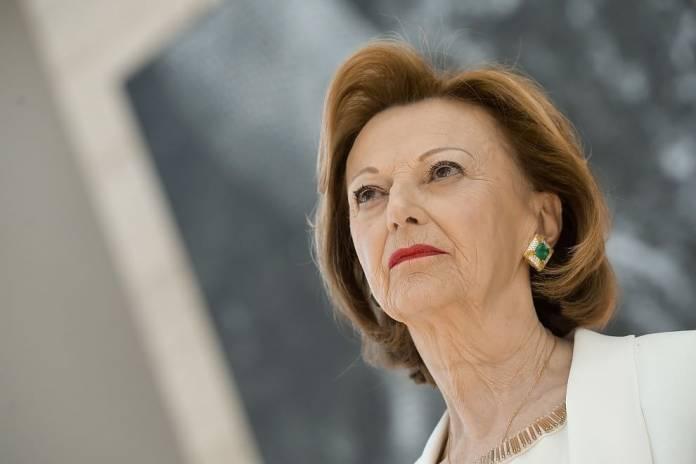 Maria-Franca-Fissolo donna più ricca di Italia