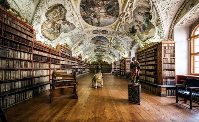 Monastero-Strahov Luoghi di interesse Praga