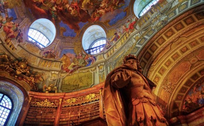 Biblioteca nazionale cosa vedere a Vienna