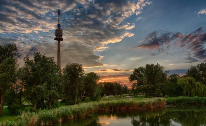 Donaupark Parco Vienna Cosa Visitare