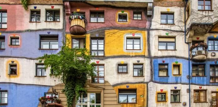 Hundertwasserhaus cosa vedere a Vienna Case colorate