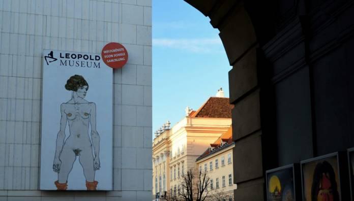 Leopold Museum Vienna luoghi di interesse