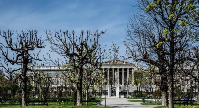 Volksgarten PArco Vienna cosa vedere