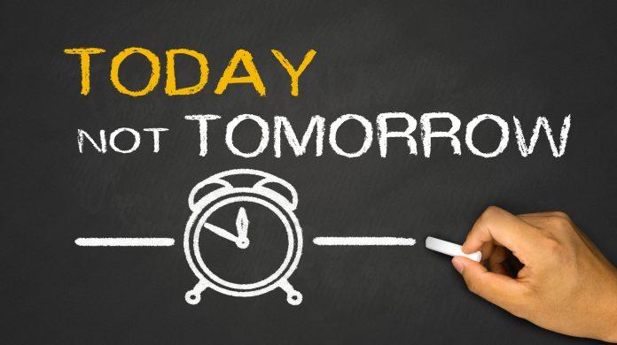 Smettere di procrastinare significato