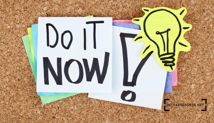 smettere di procrastinare - non rimandare