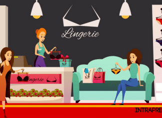 negozio di intimo, negozio lingerie