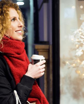 vetrine natalizie, vetrine di natale