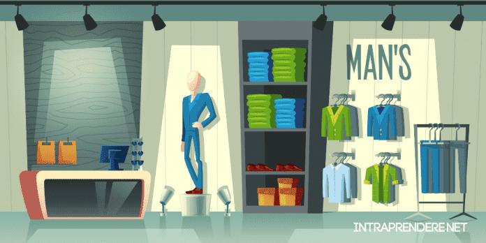 Arredamenti negozio abbigliamento