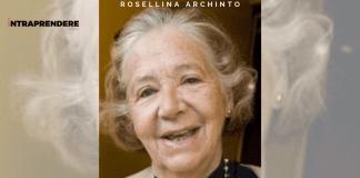 Rosellina Achinto biografia imprenditrici