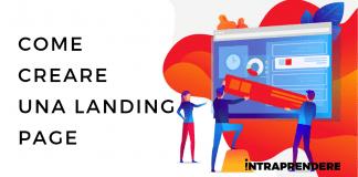 landing page, come creare una landing page, creare Landing page