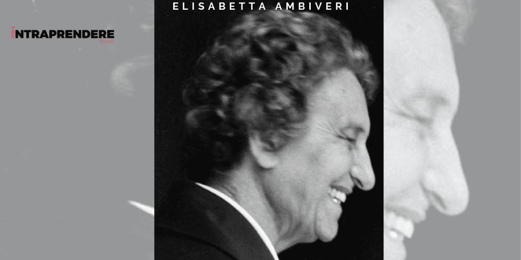 Biografia di Elisabetta Ambiveri: la Prima Donna Italiana a Coprire una Carica Politica nel Dopoguerra