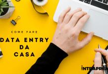 data entry da casa, come fare data entry, guadagnare con il data entry, data entry come funziona