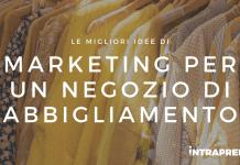 marketing per negozio di abbigliamento